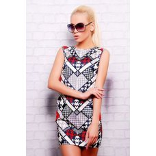 Pied-de-Poule платье Лея-1 б/р NCG9575