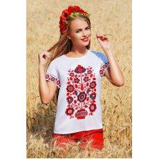 Узор цветы блуза Кимоно 2Н к/р NCG9937