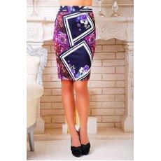 Фиолетовый ромб юбка мод. №14 Оригами NCG9945