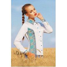 Узор С2 блуза Марта 2Н д/р NCG10652
