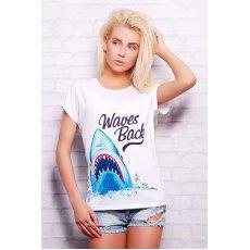 Акула футболка Кимоно NCG10571
