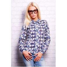Полевые цветы блуза Марта 1Н д/р NCG9855