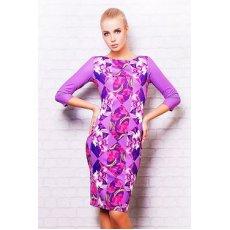 Цветы-ромб платье Лоя-1 д/р NCG9960