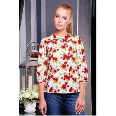 Роза красная блуза Тамила1 д/р NCG10640