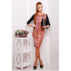 Питон оранжевый платье Саламандра д/р NCG9816