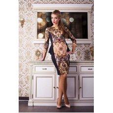 Золото платье Богемия д/р NCG9683