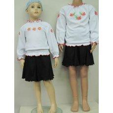Блуза Вышиванка интерлок NCL229