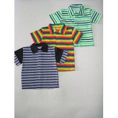 Рубашка полоска кулир NCL214