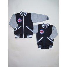 Куртка Бренд трехниточный начес ,вышивка NCL804