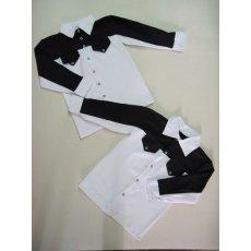 Рубашка  на кокетке  длинный рукав фуликра NCL753