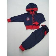 Спортивный костюм с люверсами футер без начеса NCL542