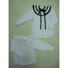 Блуза с пелериной фуликра NCL764