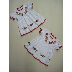 Платье Ясочка вышивка интерлок NCL44