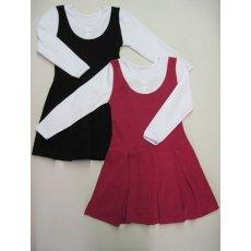 платье-сарафан школьное интерлок NCL153