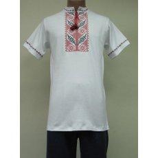Рубашка мужская вышивка интерлок NCL624