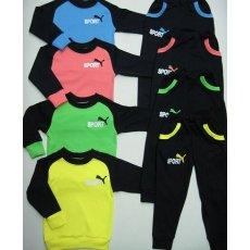 Спортивный костюм Пума интерлок вышивка NCL783