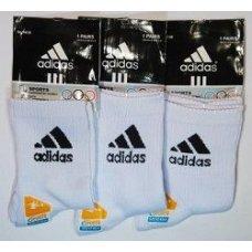 "Белые мужские носки ""Adidas"""