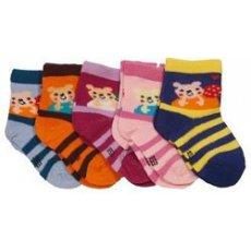 """Носки для новорожденных """" Мишка """""""