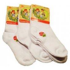 "Белые детские носки ""Корона"", С/3520,штучно"