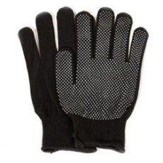 Перчатки рабочие черные, штучно
