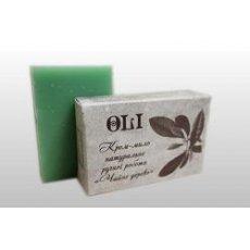 Крем мыло ручной работы «OLI» Чайное дерево