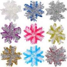 Новогодняя «Снежинка» мини из дождика