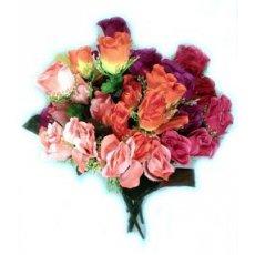 """Искусственные цветы """" Роза бутон """" 3л"""
