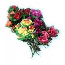 """Искусственные цветы """" Роза бутон """" малый"""