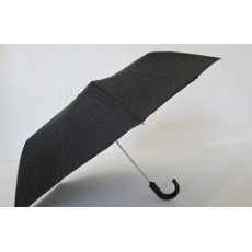 Зонт мужской полуавтомат с ручкой крюком
