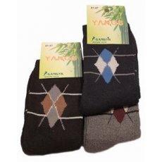 """Мужские махровые носки """" Yangs """" с рисунком"""