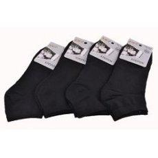 """Мужские низкие носки """"Jujube"""", черные"""
