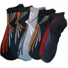 """Мужские низкие носки, сетка """" Байвей """", 804"""