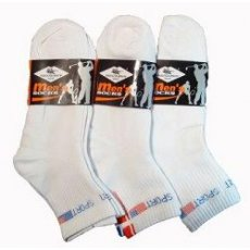 "Белые мужские носки ""Men"",№901"
