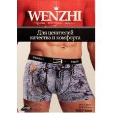 Трусы мужские Wenzhi 3006 под джинс
