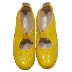 """Кросовки летние """" Zojas Shoes """" А-579/1 Yellow штучно"""