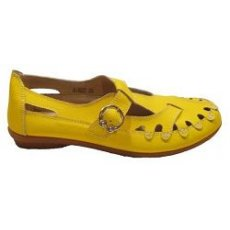 "Мокасины летние "" Zojas Shoes "" А-822 Yellow оптом"