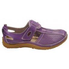 "Мокасины летние "" Zojas Shoes "" А-99085 Purple оптом"