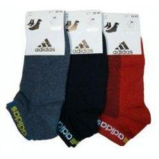 """Носки женские низкие """" Adidas """", сетка"""