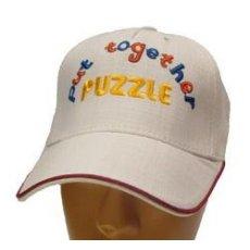 """Бейсболка льняная """"Puzzle"""""""