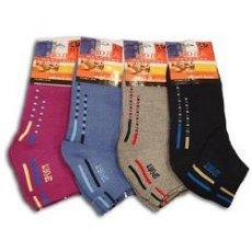 """Махровые женские низкие носки """"BFL"""" Е/075"""