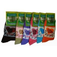 """Женские носки """" Yangs """", бамбук № А33-017"""